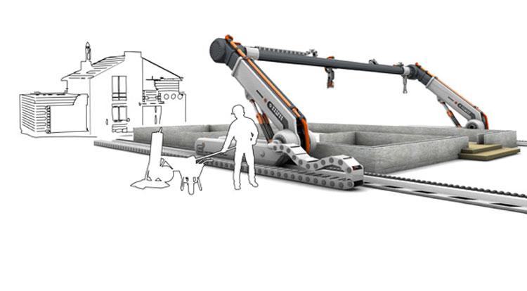 Impresora 3d puede construir una casa en 24 horas for Construir impresora 3d