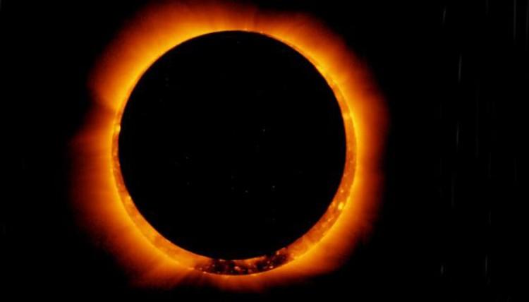 El sol se verá como un anillo de fuego