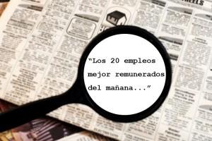los 20 empleos mejor remunerados del mañana