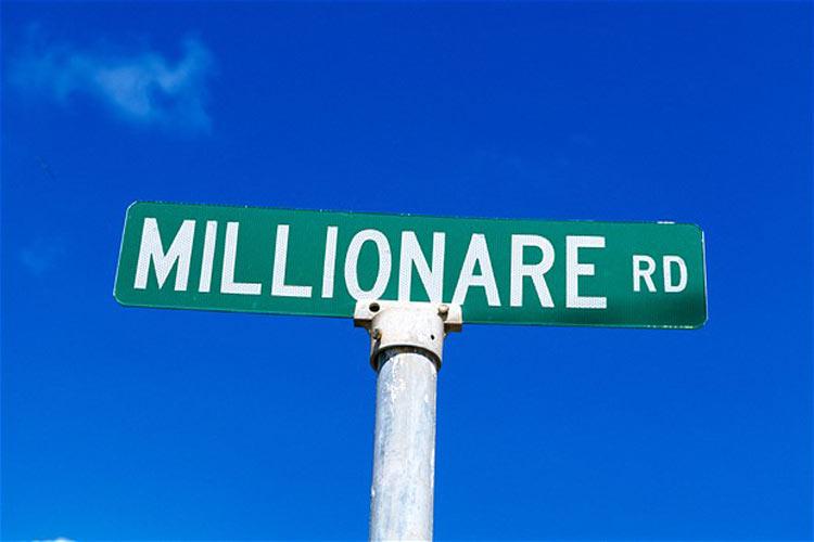 5 maneras de pensar como un millonario