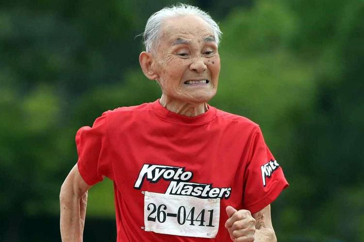 Tiene 103 años y desafía a Usain Bolt