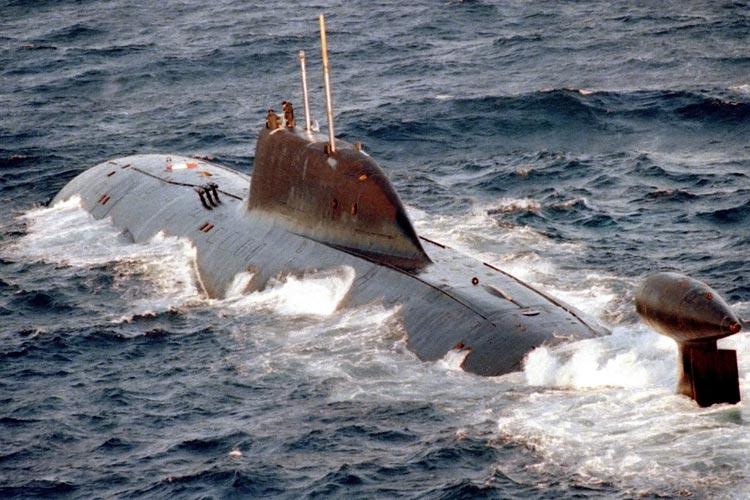 Akula el submarino nuclear que inquieta a EE.UU.