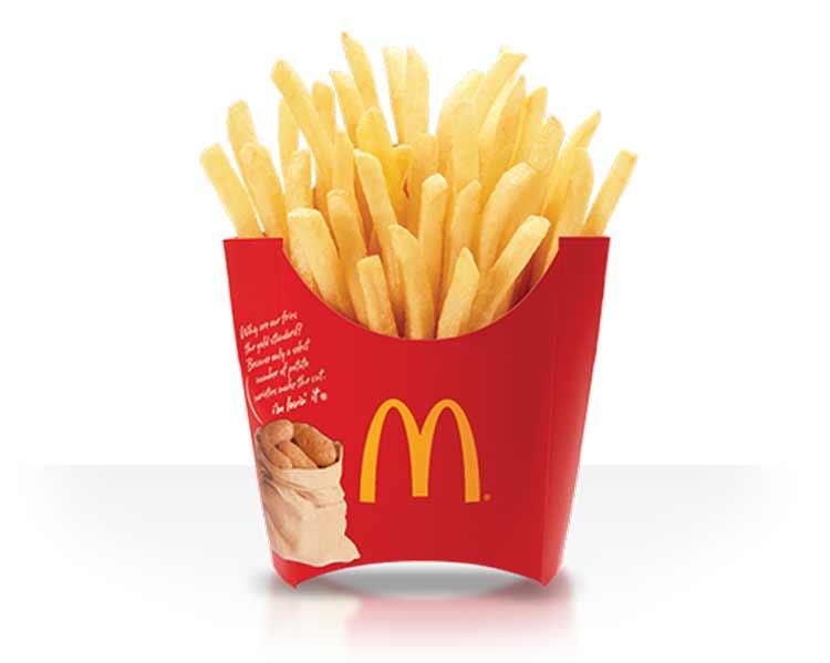 """Como se hacen """"Realmente"""" las fries de McDonald"""