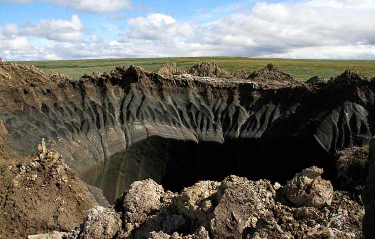 Siguen los gigantescos agujeros en Rusia