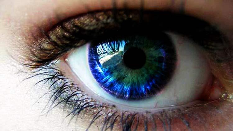 cambia el color de los ojos