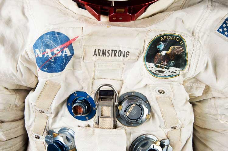 Salvan el primer traje espacial usado en la luna