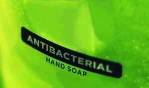 Jabones antibacteriales