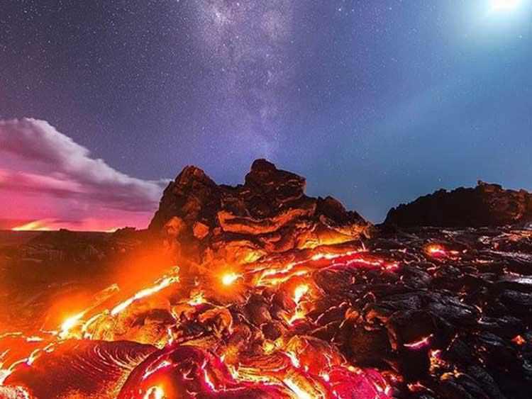 1 Foto profesional captura todo, lava, meteorito y más