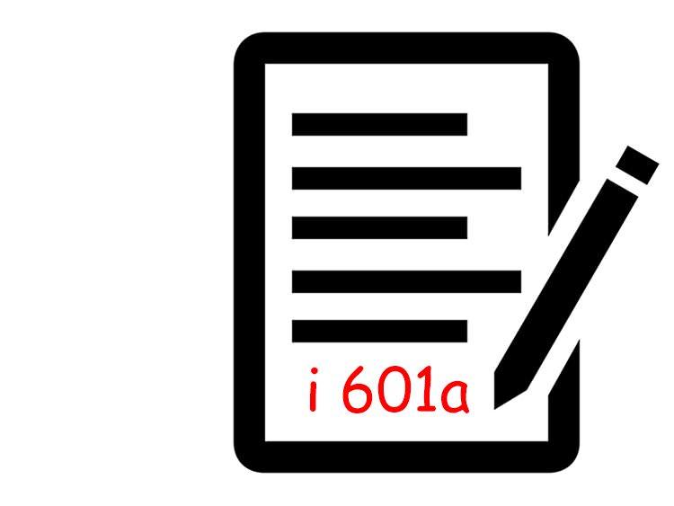 Inmigracion - Diferencia formulario i 601 - i 601a