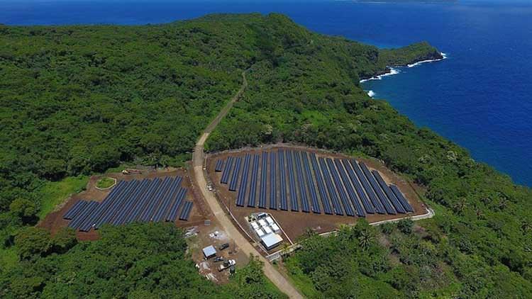 Tesla: paneles de energía solar para toda una isla