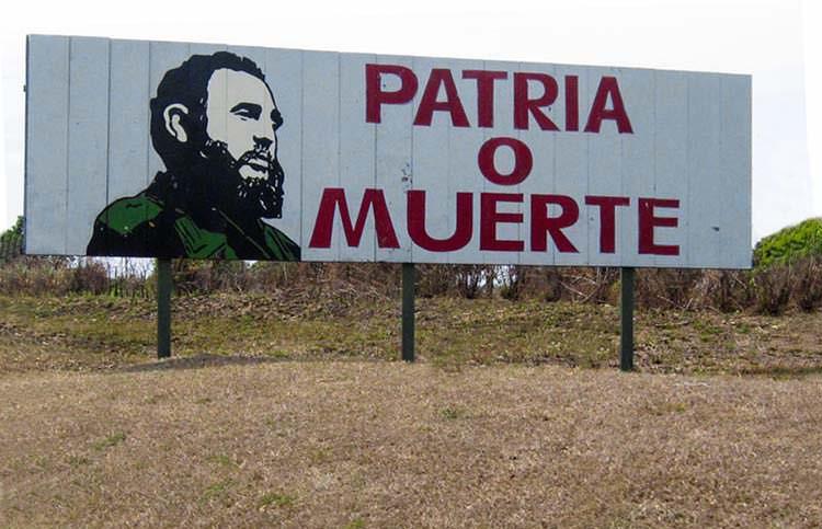 """Patria o Muerte!"""