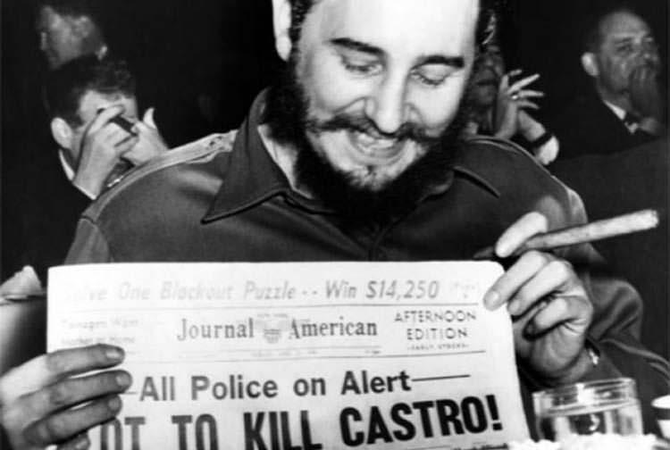 asesinato de Fidel planeado por la CIA