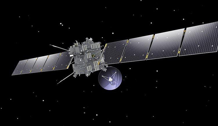Los últimos momentos de la misión Rosetta