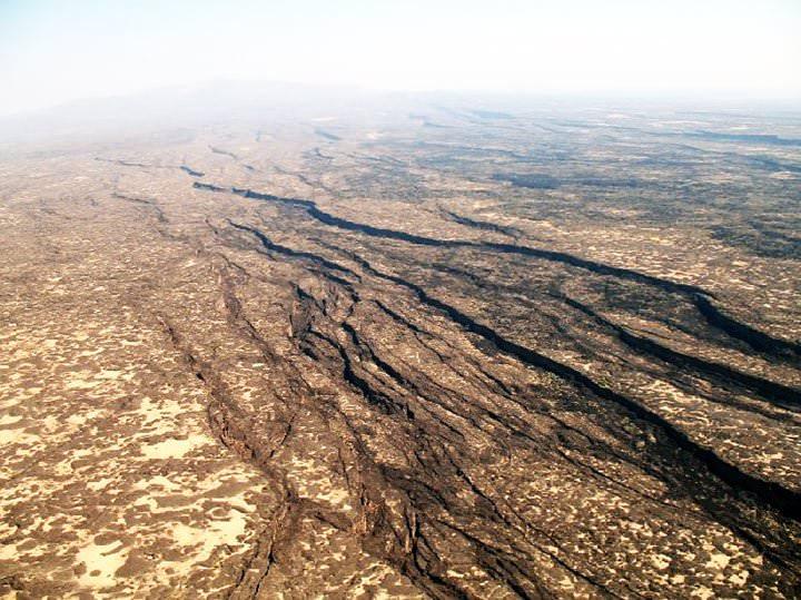 Meteorito alteró el campo magnético en África