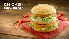 McDonald ahora vende el nuevo Chicken Big Mac