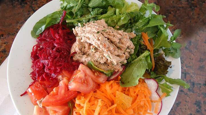 Fotos de comida promueven la alimentación sana