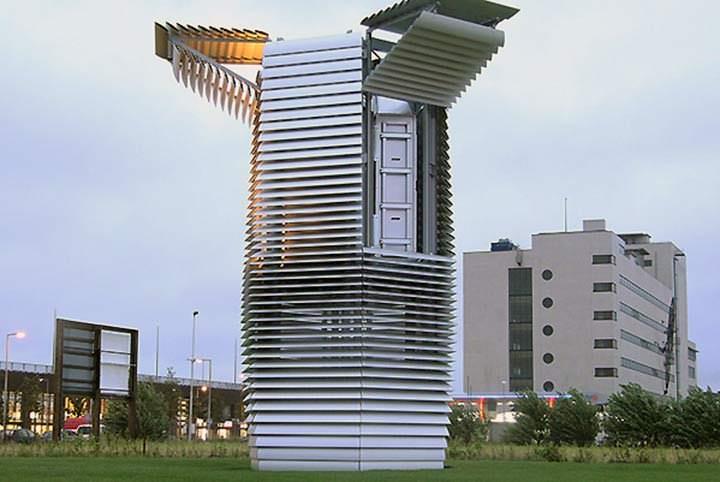 El Purificador de aire más grande del mundo