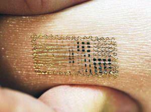 Tatuaje temporal Monitorea cerebro, corazón y músculo