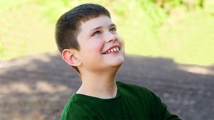 Niños con autismo en las fiestas de Navidad