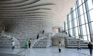 Biblioteca del futuro abre sus puertas en China