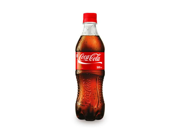 Encuentra un Ratón en una botella de Coca cola