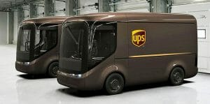 Paquetes de UPS serán entregados con vehículos eléctricos